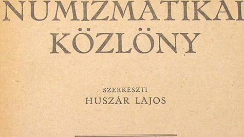 19. Magyar Numizmatikai bibliográfia 1995-1996.