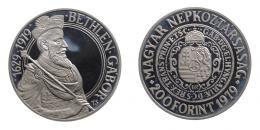 Ezüst 200 forint 1979 Bethlen Gábor PIEFORT PP