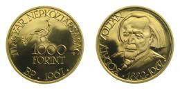 Arany 1000 forint 1967 Kodály Zoltán, 84.10 g Au .900
