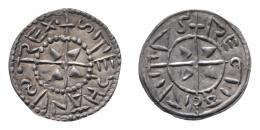 I. István (997-1038) denár, fekvő S