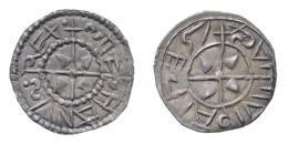 I. István (997-1038) denár, fekvő S, retrográd hátlapi felirat, R!