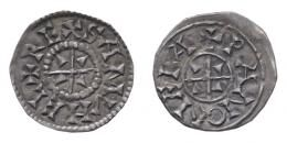 Aba Sámuel (1041-1044) denár, centrikus elő- és hátlap, RR!