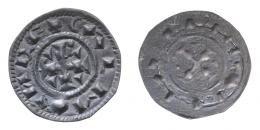 Kálmán (1095-1116) denár, Huszár: 31, Unger: 25, 16-17 mm, RR!