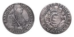 Báthori Zsigmond (1581-1602) tallér 1595 j.n. Nagybánya, MNM-