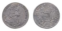 III. Károly (1711-1740) 1/2 tallér 1713 K-B (Körmöcbánya)