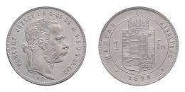 Ferenc József 1 forint 1871 KB