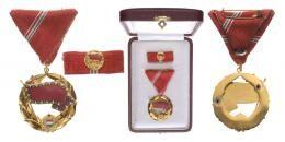 Vörös Zászló Érdemrend, 1957, csak 123 adományozás!