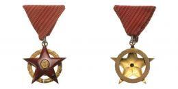 Vörös Csillag Érdemrend, 1953, csak 177 adományozás!