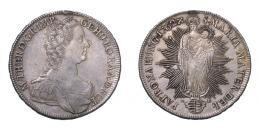 Mária Terézia (1740-1780) tallér 1762 K-B, Körmöcbánya
