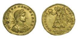 Constans caesar solidus, CONSTANS NOB CAESAR (335)