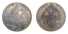 II. József mint társuralkodó, tallér 1768 H/S-C, EF, patina!