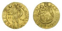 Erdély, Báthori Zsigmond aranyforint 1594 Nagybánya