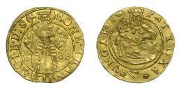 Erdély, Báthori Zsigmond aranyforint 1588 Szeben