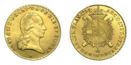 Ferenc souverain d'or (sovrano) 1793 A