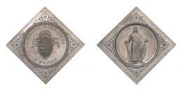 5 pengő 1938 csegely, álló Szent István, UP jelölés NÉLKÜL, RRR!