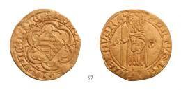 Ludwig der Grosse Goldgulden <br>(Au) 1369 -70 Ofen o. Kremnitz/ <br>RRR! fast vorzüglich-vorzüglich