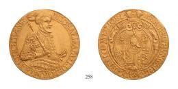 Michael Apafi 5 Dukát <br>(Au) 1681 Gyulafehérvár /Karlsburg/, <br>RRR! fast vorzüglich