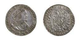 Ferdinand III. 2 Taler, <br>1652 Kremnitz, <br>gutes vorzüglich