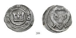 Ottó (1305-1307)<br>Denar (Ag) o.Jahr<br>vorzüglich