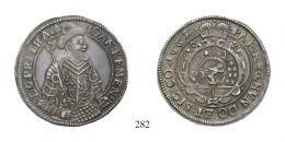 Kemény Zsigmond<br>Tallér (Ag) 1661 Kolozsvár /Klausenburg/ 100 aranykorona! /Goldkronen/ <br>Patina! RR! Prachtexemplar! Vorzüglich
