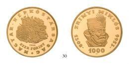 Magyar Népöztársaság - Emlékpénzek - 1000 Forint 1966 Prooflike <br>330 db/St./pcs, stempelfrisch
