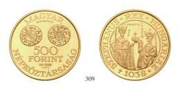 Magyar Köztársaság - Próbaveretek - 19. 500 Forint 1988 Próbaveret PP <br>50 db/St./pcs, stempelfrisch