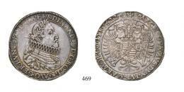 II. Ferdinánd (1619-1637)Négyszeres Tallér /Vierfacher Taler/ (Ag) 1622 Körmöcbánya /Kremnitz/, Unikum! Patina! Prachtexemplar! vorzüglich