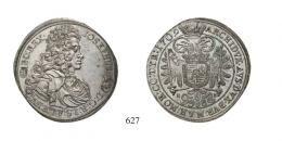 I. József (1705-1711)<br>Tallér (Ag) 1709 Körmöcbánya /Kremnitz/ RRR! Von allergrösster Seltenheit! Prachtexemplar! <br>stempelfrisch