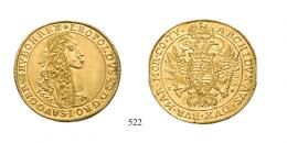 III. Ferdinánd (1637-1657)<br>10 Dukát (Au) 1647 (Ag) Körmöcbánya /Kremnitz/ min. karc /winz. Kratzer/<br>vorzüglich vohl Unikum! das einzige bekannte Exemplar! vorzüglich