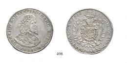 III. Ferdinánd (1637-1657)<br>3 Tallér /Dreifacher Taler/ (Ag) 1644 Körmöcbánya /Kremnitz/ <br>RR! Patina! Prachtexemplar! vorzüglich