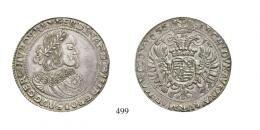 III. Ferdinánd (1637-1657)<br>2 Tallér /Doppeltaler/ (Ag) 1655 Körmöcbánya /Kremnitz/ <br>RR! Patina! Prachtexemplar! vorzüglich
