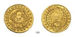 Brandenburgi Katalin (1629-1630) Dukát (Au) 1630 verdejegy nélkül – Kolozsvár /ohne Mzz. – Klausenburg/ RRR! fast vorzüglich-vorzüglich