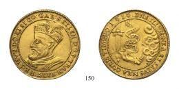 Bethlen Gábor (1613-1629) 10 Dukát (Au) 1616 verdejegy nélkül – Kolozsvár /ohne Mzz. – Klausenburg/ R! gutes sehr schön