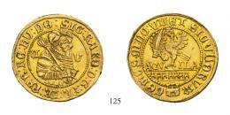 Rákóczi Zsigmond Dukát (Au) 1607 Kolozsvár /Klausenburg/ RR! vorzüglich
