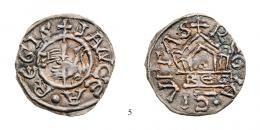 I. István (997-1038) Ezüstpénz /Silbermünze/ (Ag), RRR! Patina! vorzüglich 15.000.-