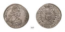 I. József (1705-1711) Tallér (Ag) 1709 Körmöcbánya /Kremnitz/, RRR! Von allergrösster Seltenheit! Prachtexemplar! Stempelfrisch