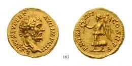 Septimius Severus (A.D. 193-211) Aureus Au Rare about Uncirculated