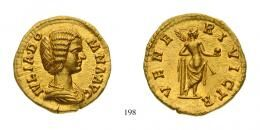 Julia Domna (A.D. 193-217) Aureus Au A.D. virtually as struck Uncirculated