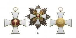 Magyar Érdemrend 1935-45 Az aranysugarakkal ékesített nagykereszt szett ( a legmagasabb fokozat 1930-1938 között)