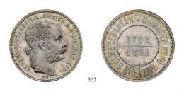 I. Ferenc József (1848-1916) Gulden, Ag, 1878, K-B, Kremnitz<br />Patina! Prachtexemplar!stempelfrisch