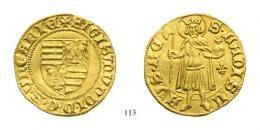 Zsigmond (1387-1437) Aranyforint /Goldgulden/ (Au) 1387-1401 Kassa /Kaschau/ RRR! vorzüglich-stempelfrisch