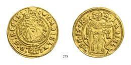 II. Ulászló (1490-1516)<br>Aranyforint / Goldgulden, Au, 1504, Körmöcbánya / Kremnitz/<br />K-H<br />RRR<br />Prachtexemplar!<br />vorzüglich-stempelfrisch
