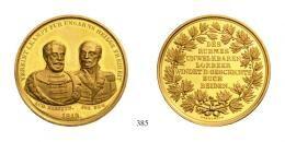Ferenc József (1848-1916)<br />Goldmedaille zu 10 Dukaten, Au, 1849, Lajos Kossuth<br />RRR!<br />Prachtexemplar!<br />fast stempelfrisch