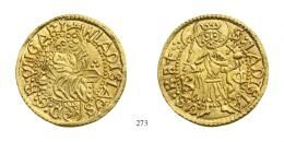II. Ulászló (1490-1516)<br> Aranyforint /Goldgulden/ (Au) 1490-94 Körmöcbánya /Kremnitz/<br> Prachtexemplar!