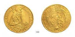Apafi Mihály (1661-1690)<br /10 Aranyforint , Au , 1689, >A•-F: <br />RRR! 150 aranykorona! /Goldkronen/<br />fast vorzüglich