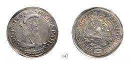 Apafi Mihály (1661-1690)<br />Tallér , Ag , 1672, S-B <br />40 aranykorona! /Goldkronen/ RR! Patina! Prachtexemplar! <br />vorzüglich-stempelfrisch