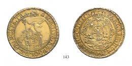 II. Rákóczi György (1648-1660)<br />Tallér 10 aranyforint súlyában /im Gewicht des 10 Goldguldens/ , Ag , 1657, A-I <br />egykorú tűzi aranyozás /zeitgenöshische Feuervergoldung/ Patina! RRR!<br />vorzüglich