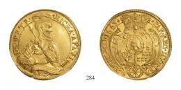 Apafi Mihály (1661–1690) 5 Aranyforint /Goldgulden/ <br />120 aranykorona! /Goldkronen/ MNM: -, RRR! Prachtexemplar!<br />vorzüglich-stempelfrisch <br />