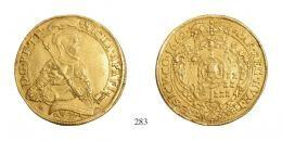 Apafi Mihály (1661–1690)<br>Aranyforint /Goldgulden/ (Au) 1662 Szeben /Hermannstadt/, 250 aranykorona! /Goldkronen/ RR! sehr schön