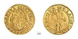 Bocskai István (1605–1606) Dukát <br />70 aranykorona! /Goldkronen/ RRR! Prachtexemplar!<br /><br />stempelfrisch <br />